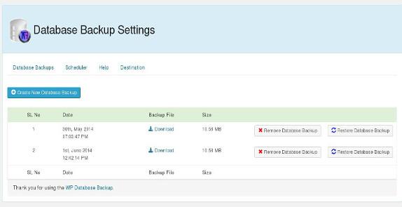wp_database_backup574