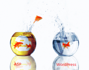 ASP to Wordpress migration